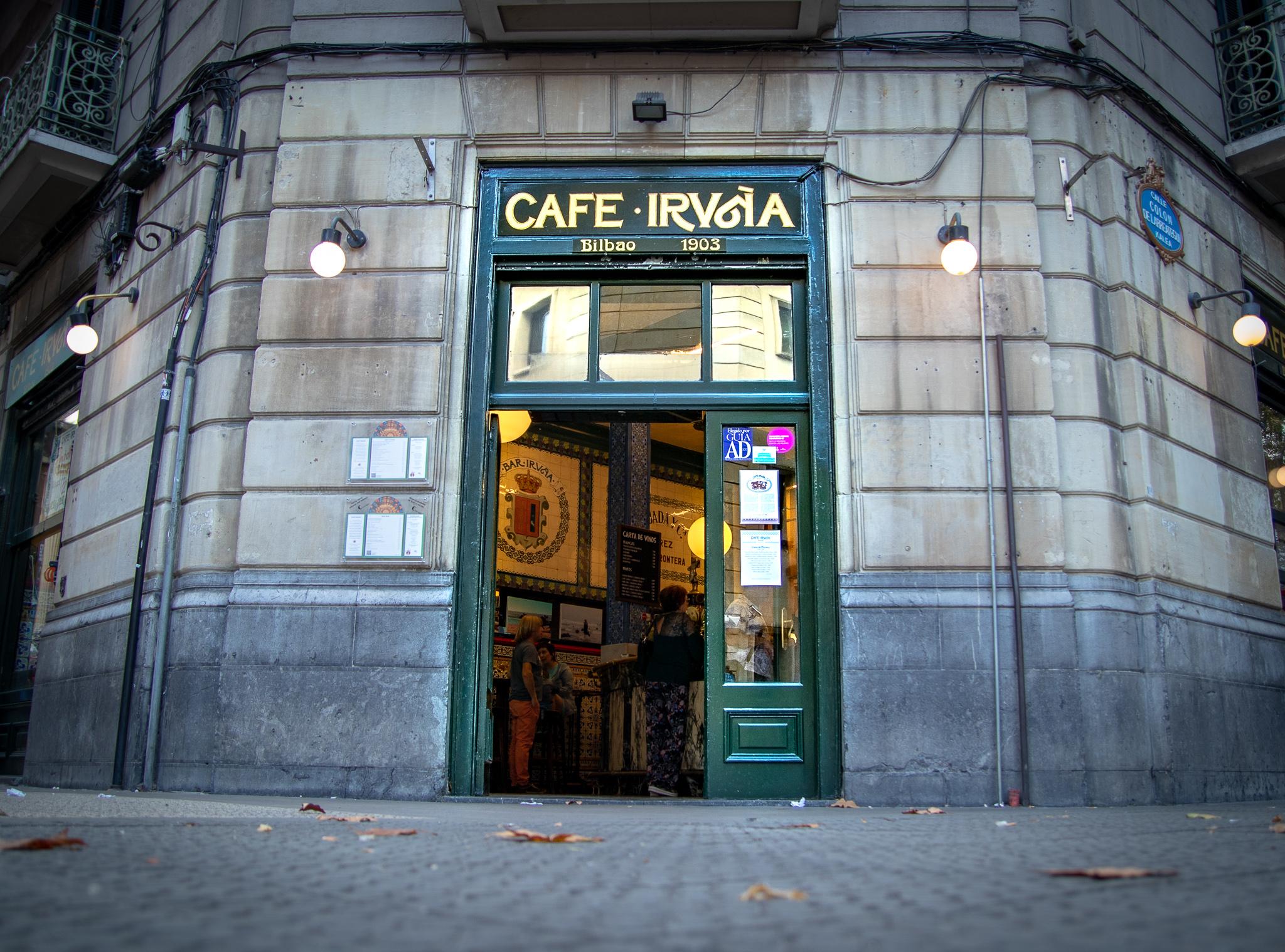 cafe iruña