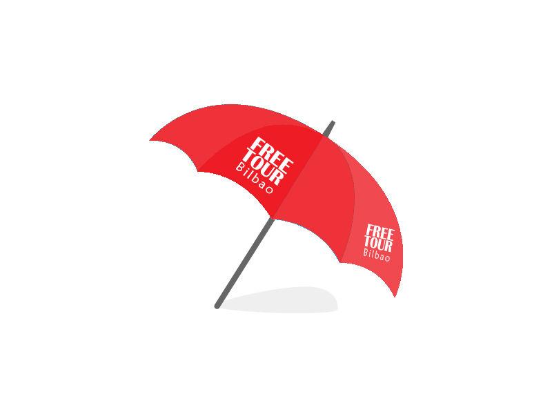 Free Tour Bilbao's Umbrella